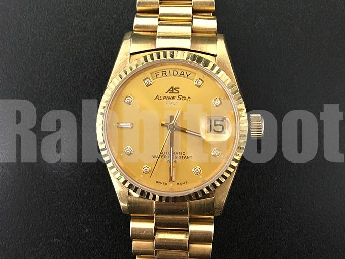 ノーブランド金無垢時計の買取