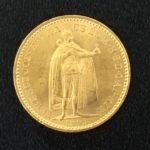 21.6金 ハンガリー 20コロナ金貨(900/1000) 実重量6.8gを買取しました!
