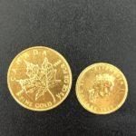 24金 メイプルリーフ金貨 純金 インゴット 買取