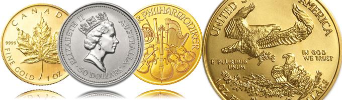 世界の金貨を高価買取。